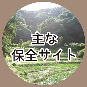 主な保全サイト